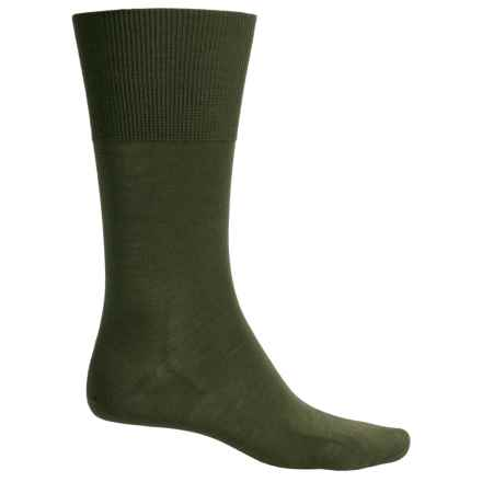 Falke Airport Socks - Wool-Cotton, Crew (For Men) in Tundra - Closeouts
