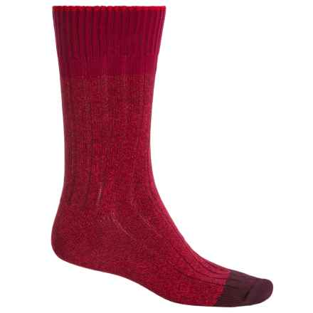Falke Color Flash Socks - Crew (For Men) in Berry - Closeouts
