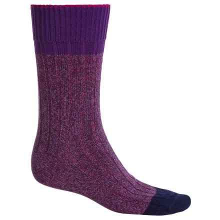 Falke Color Flash Socks - Crew (For Men) in Velvet - Closeouts