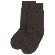 Falke Comfort Wool Socks (For Kids) in Dark Brown - Closeouts