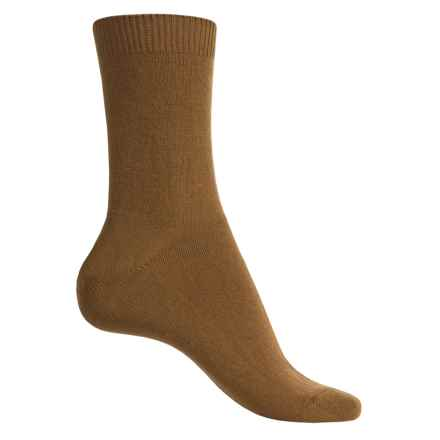 Falke Cosy Socks - Wool-Cashmere, Crew (For Women) in Hazelnut - Closeouts