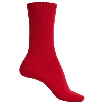 Falke Cosy Socks - Wool-Cashmere, Crew (For Women) in Ingle - Closeouts