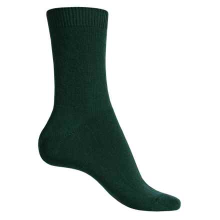 Falke Cosy Socks - Wool-Cashmere, Crew (For Women) in Marble - Closeouts