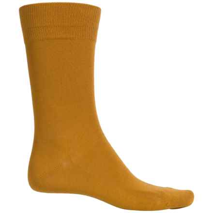 Falke Family Socks - Stretch Cotton, Crew (For Men) in Golden Oak - Closeouts