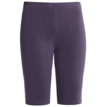 Falke Knicker Leggings - Stretch Cotton (For Women) in Violet - Closeouts