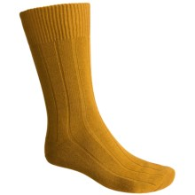 Falke Lhasa Socks - Merino Wool, Cashmere (For Men) in Golden Oak - Closeouts