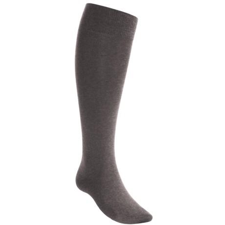 Falke Light Support Socks - Over-the-Calf (For Men) in Dark Grey