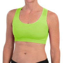 Falke Madison Sports Bra - Low Impact (For Women) in Bright Lime - Closeouts