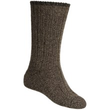 Falke Ribbed Boot Socks - Wool Blend (For Men and Women) in Dark Brown - Closeouts