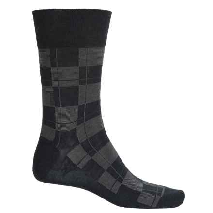 Falke Sensitive Line Socks - Crew (For Men) in Anthra - Closeouts