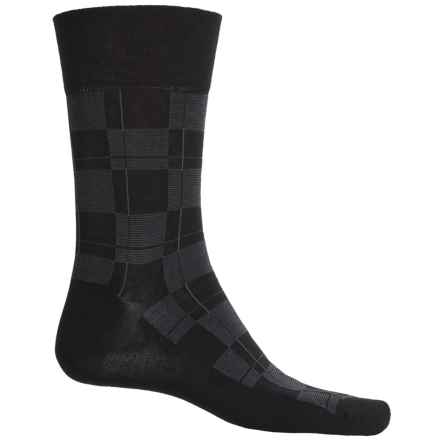 Falke Sensitive Line Socks - Crew (For Men) in Black - Closeouts
