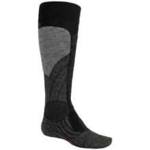 Falke SK1 Ski Socks - Merino Wool, Over the Calf (For Little and Big Kids) in Black - Closeouts