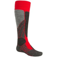 Falke SK1 Ski Socks - Merino Wool, Over the Calf (For Little and Big Kids) in Fire - Closeouts