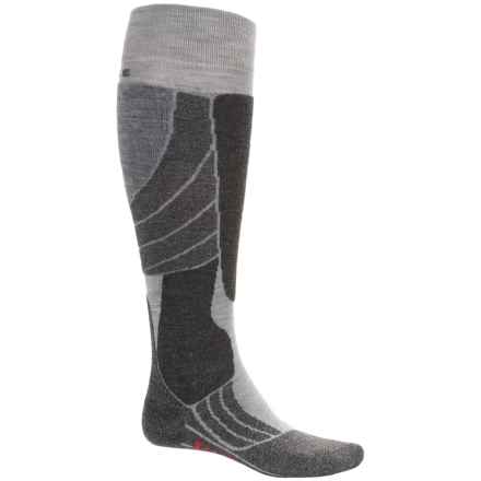Falke SK2 Ski Socks - Merino Wool, Over the Calf (For Men) in Grey - Closeouts