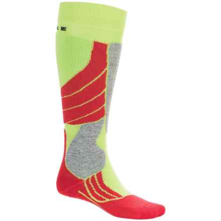 Falke SK2 Ski Socks - Over the Calf (For Women) in Bright Lime - Closeouts