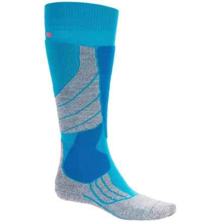Falke SK2 Ski Socks - Over the Calf (For Women) in Wave - Closeouts