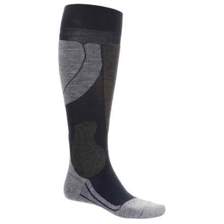 Falke SK4 Pro Race Ski Socks - Over the Calf (For Men) in Marine - Closeouts