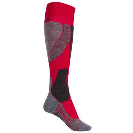 Falke SK4 Pro Race Ski Socks - Over the Calf (For Women) in Red - Closeouts