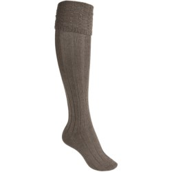 Falke Striggings Ribbed Knee High Socks (For Women) in Pebble