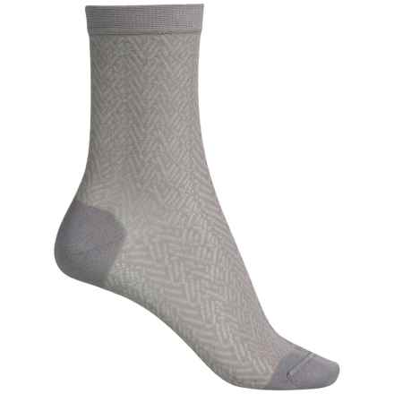 Falke Structure Socks - Crew (For Women) in Rosewood - Closeouts