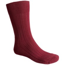 Falke Teppich Crew Socks - Merino Wool (For Men) in Cranberry - Closeouts