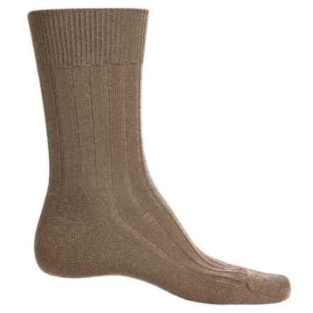 Falke Teppich Crew Socks - Merino Wool (For Men) in Nutmeg - Closeouts
