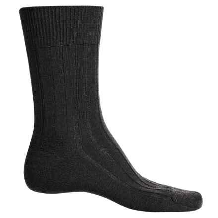 Falke Teppich Socks - Merino Wool, Crew (For Men) in Dark Brown - Closeouts
