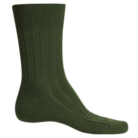 Falke Teppich Socks - Merino Wool, Crew (For Men) in Herb
