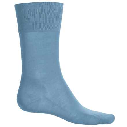 Falke Tiago Socks - Crew (For Men) in Lightblue - Closeouts
