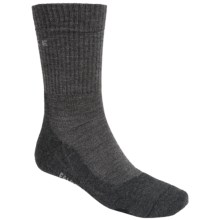 Falke TK2 Hiking Socks - Merino Wool, Crew (For Men) in Anthracite Mouline - Closeouts