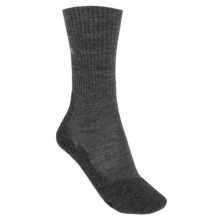 Falke TK2 Wool Hiking Socks - Lightweight, Crew (For Women) in Anthracite Mouline - Closeouts