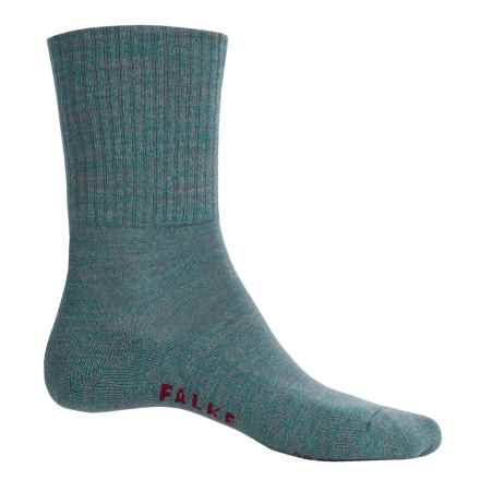 Falke Walkie Light Socks - Wool, Crew (For Men) in Bluebay - Closeouts