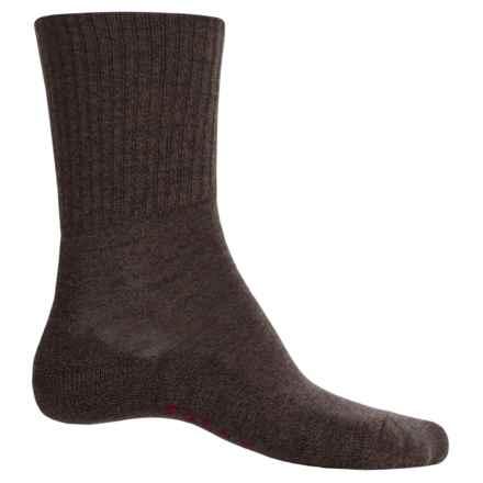 Falke Walkie Light Socks - Wool, Crew (For Men) in Dark Brown - Closeouts