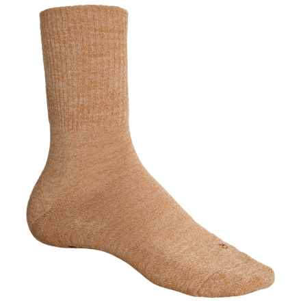 Falke Walkie Light Socks - Wool, Crew (For Men) in Orange/Yellow Melange - Closeouts