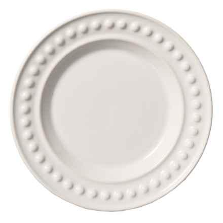"""Fapor Made in Portugal Delmar Salad Plate - 9"""" in White - Closeouts"""