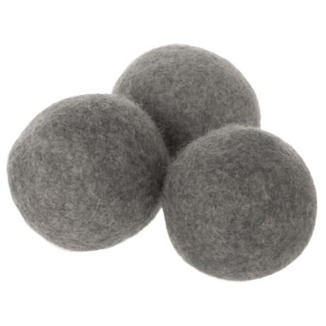 Farberware Classic Series Wool Dryer Balls - Set of 3 in Grey