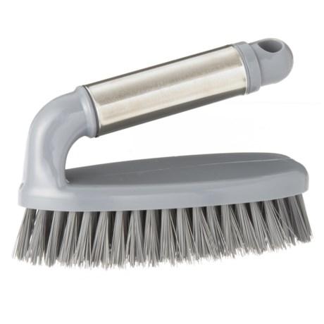 Farberware Stainless Steel Scrub Brush in Silver/Grey