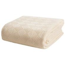 Faribault Woolen Mill Co. Diamond Acrylic Blanket - Twin in Vanilla - Closeouts