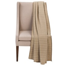 Faribault Woolen Mill Co. Herringbone Throw Blanket - Virgin Wool in Wheat - Closeouts