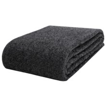 Faribault Woolen Mill Co. Wool Blanket - Queen in Charcoal - Closeouts