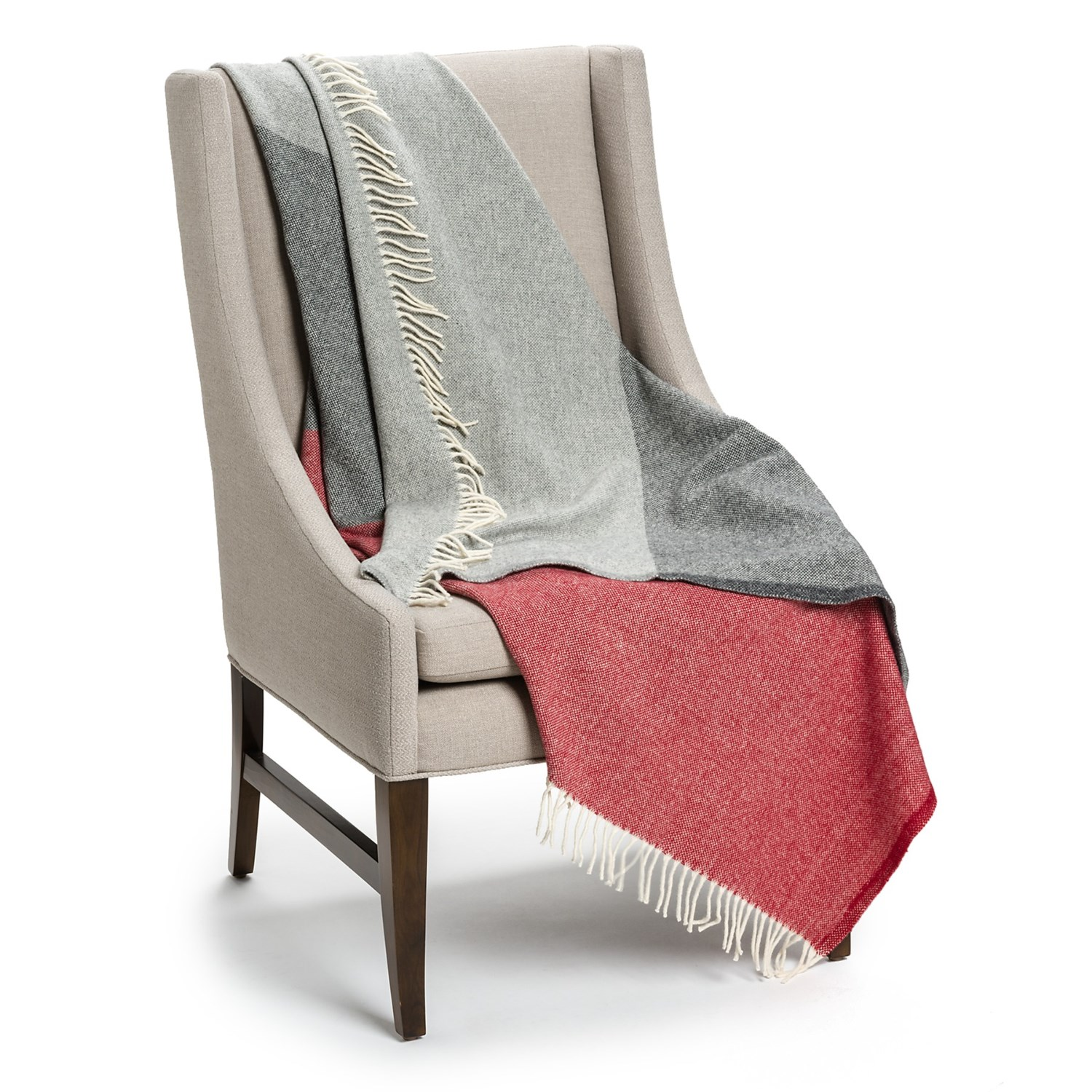 Faribault Woolen Mills Co Throw Blanket Merino Wool