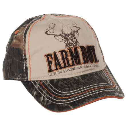 Farm Boy Baseball Cap (For Little Boys) in Camo - Closeouts