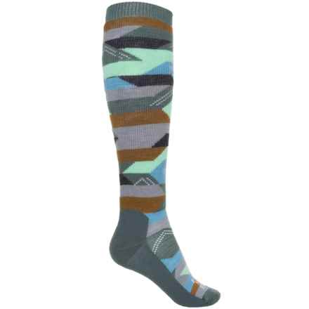 Farm to Feet Billings Everyday Socks - Merino Wool, Over the Calf (For Women) in Balsam - Closeouts