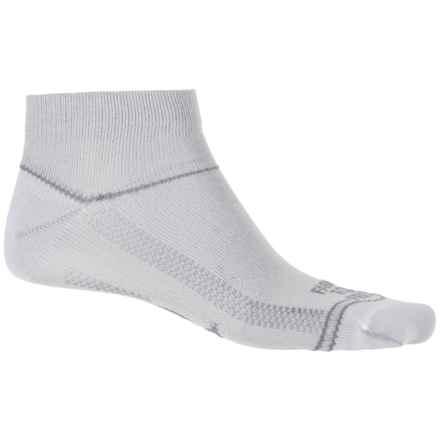 Farm to Feet Blacksburg Socks - Quarter Crew (For Men and Women) in White - Closeouts
