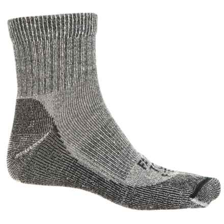 Farm to Feet Boulder Lightweight Hiking Socks - Merino Wool, Quarter Crew (For Men) in Charcoal - Closeouts