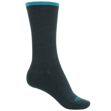 Farm to Feet Dobson Socks - Merino Wool, Crew (For Women) in Green Gables - Closeouts