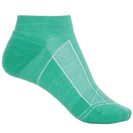 Farm to Feet Greensboro Sporting Socks - Merino Wool, Ankle (For Women) in Mint Leaf