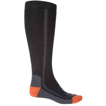 Farm to Feet NFZ Ansonville Socks - Merino Wool, Over the Calf (For Men) in Charcoal/Platinum - Closeouts