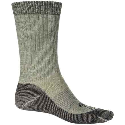 Farm to Feet No Fly Zone Boulder Socks - Merino Wool, Crew (For Men) in Sycamore - Closeouts