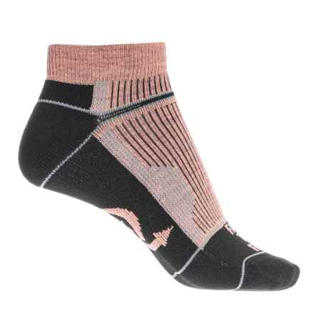 Farm to Feet Roanoke Low Cut Socks - Merino Wool, Ankle (For Women) in Burnt Coral - Closeouts